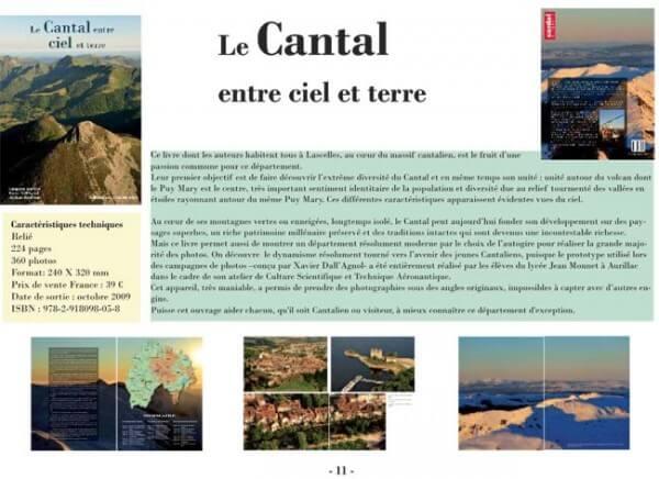 Le Cantal entre ciel et terre