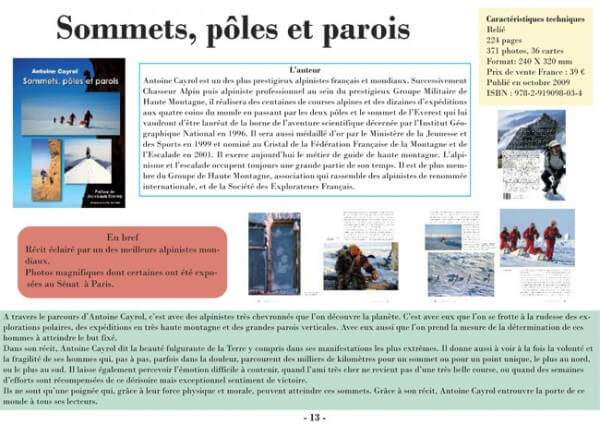 Description du livre