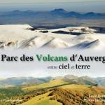 Livre : Le Parc des Volcans d'Auvergne entre ciel et terre