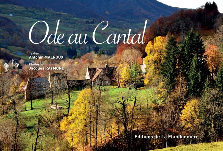 Livre : Ode au Cantal
